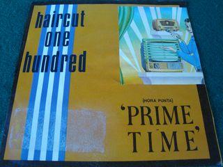 "HAIRCUT ONE HUNDRED.-PRIME TIME- SINGLE VINILO 7""."
