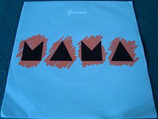 """GENESIS.-MAMA- SINGLE VINILO 7""""."""