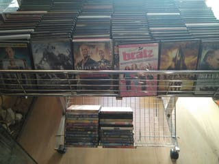 Lote de 3300 películas en DVD