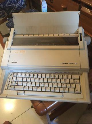 Maquina electrica de escribir