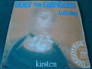 """KIRSTEN.-OVER THE RAINBOW- SINGLE VINILO 7""""."""