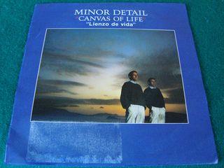 "MINOR DETAIL.-CANVAS OF LIFE- SINGLE VINILO 7""."