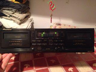 Pletina cassette Pioneer.