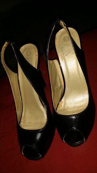 zapato charol talla 37