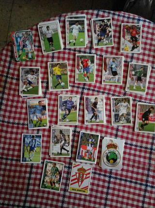 Cromos La liga Fichas 2005