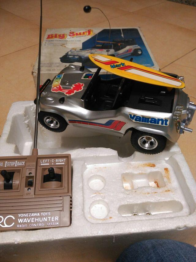 antiguo coche teledirigido radiocontrol