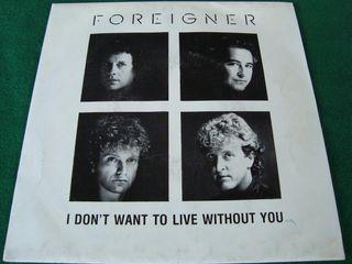 """FOREIGNER.- SINGLE VINILO 7""""."""