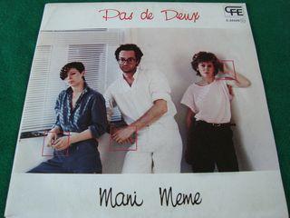 """PAS DE DEUX.-MANI MEME- SINGLE VINILO 7""""."""