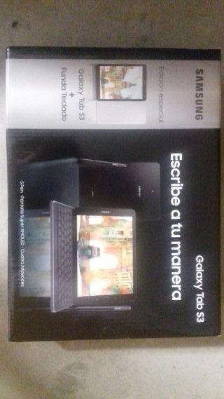 Tablet Samsung galaxy tab s3 con funda teclado