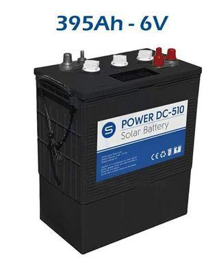 Batería Solar ciclo profundo SCL DC-395 6V 395AH