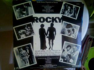 Vinilos variados. Banda sonora de Rocky, etc...