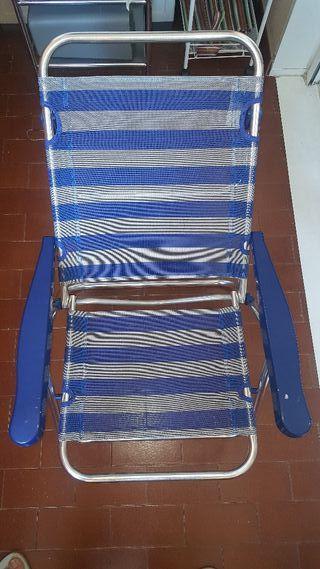 silla de camping o playa