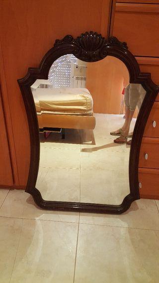 Espejo antiguo Mirall antic antigüedades