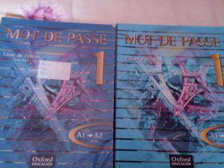 Libro de Francés + cuadernillo