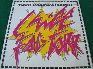 """CHILL FAC-TORR.-TWIST(ROUND & ROUND)- VINILO 7""""."""