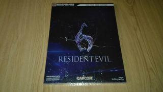 Guia oficial Resident Evil 6. Nueva y precintada.
