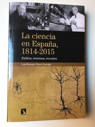 """Libro """"La Ciencia en España, 1814-2015"""""""