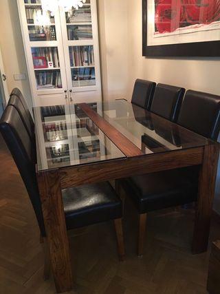 6 sillas para mesa comedor