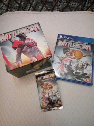 Battleborn PS4 + fugurita + cartas