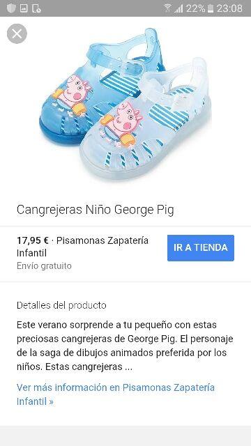 470bac3fd Cangrejeras Peppa Pig NUEVAS de segunda mano por 9 € en Barakaldo en ...