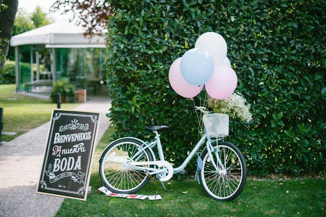 alquiler / venta bicicleta decoracion bodas de segunda mano por 80