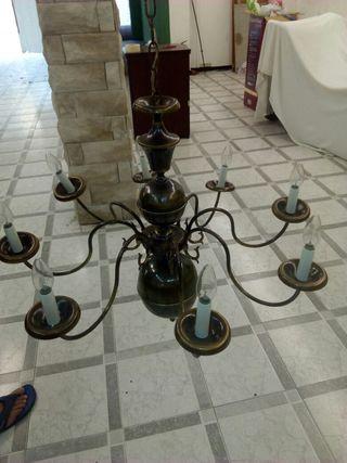 Lámpara vintage.