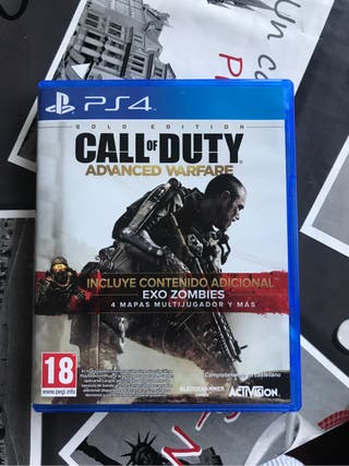 Juego ps4 call of dutty