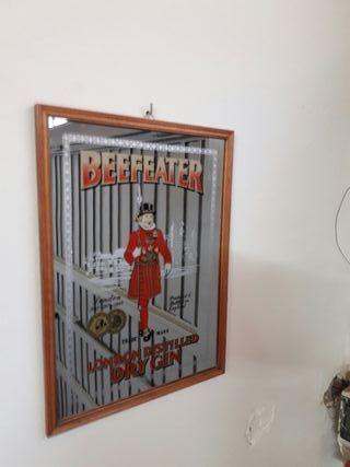 Publicidad vintage Beefeater