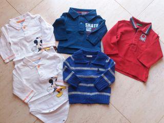 Lote ropa bebé Benetton talla 6-9 meses