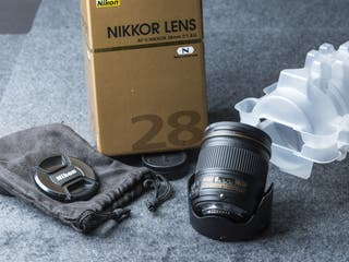 Objetivo fotografía 28 f/1.8G AF-S NIKON
