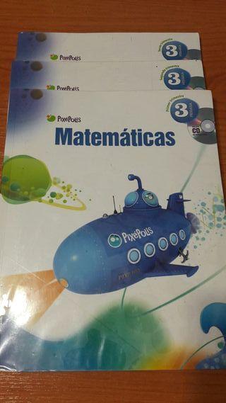 Libro Matemáticas 3 Primaria