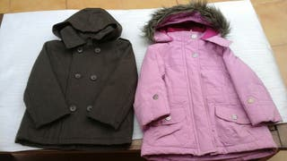 2 abrigos niña