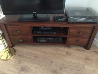 Meuble de tv de madera
