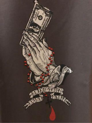 "NUEVA Camiseta ""Blind faith, ruined my life"""