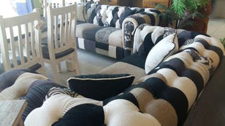 sofas 3+2 chester nuevos de diseño
