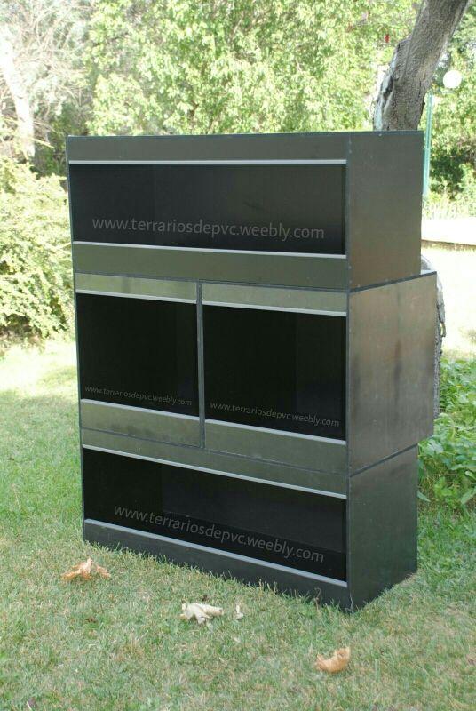 Bateria Modulo terrarios PVC GRATIS ENVIO