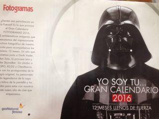 Star Wars calendario Fotograma