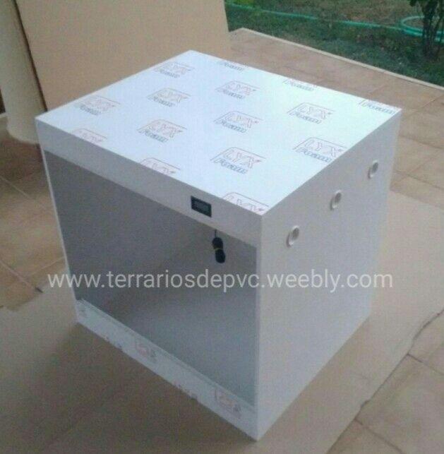 Terrarios 40*40*40 PVC GRATIS ENVIO