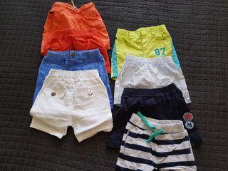 lote de ropa bebé pantalones cortos