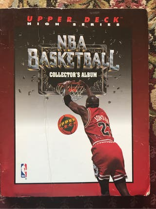 Album cromos NBA Upper Deck