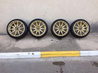 Llantas japan racing 11 18x8,5
