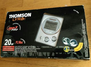 Thomson Lyra mp3 vintage mp3PRO player reproductor