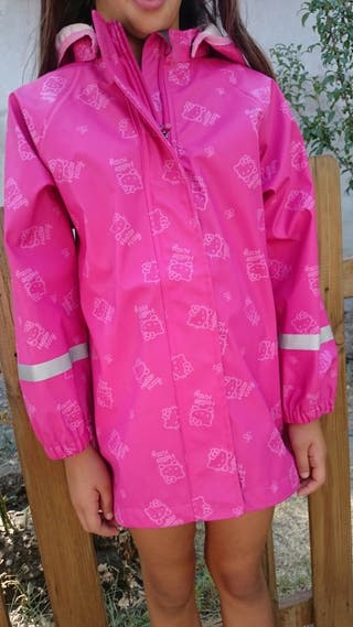 Impermeable Hello Kitty T 6-8