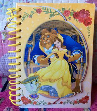 Vendo cuaderno Bella y Bestia