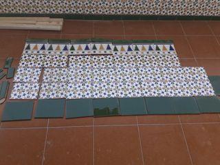 Azulejo sevillano 1.40× 70 m