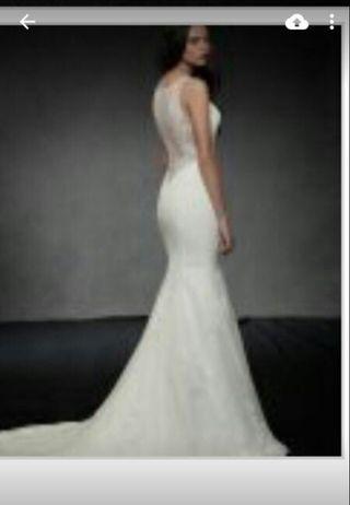 Vestido novia. REBAJADO