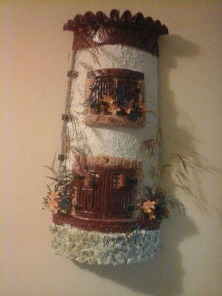 Teja decorada