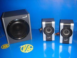 altavoces y subwoofer GENIUS modelo SW HF 2.1 1200