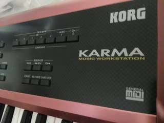 Korg Karma+2 tarjetas de expansión