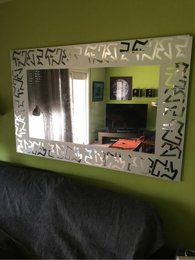 Espejo moderno para comedor de segunda mano por 85 € en Olesa de ...